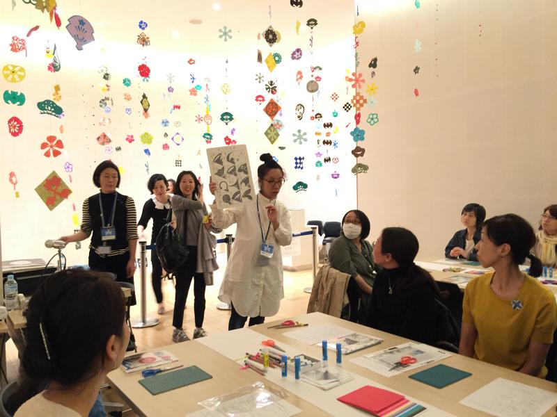 もんきりワークショップ20161022六本木アートナイト・サントリー美術館