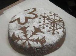 もんきりケーキ