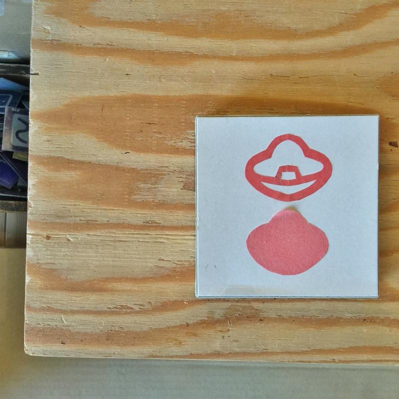 豆シリーズの紙小箱活用例