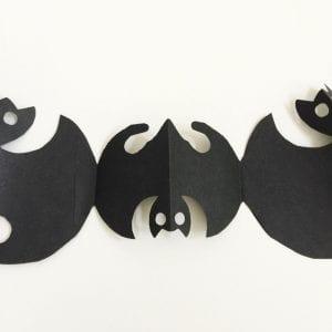 福を呼ぶ、光琳蝙蝠