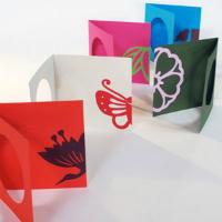 『紋切り型 のぞき紋』のぞき紋カード作例